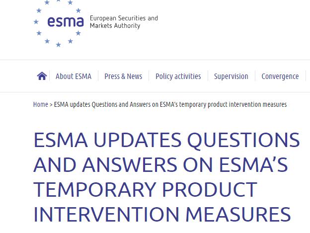 Forex pod ostrzałem regulatorów, czyli praktyczne znaczenie interwencji produktowej ESMA