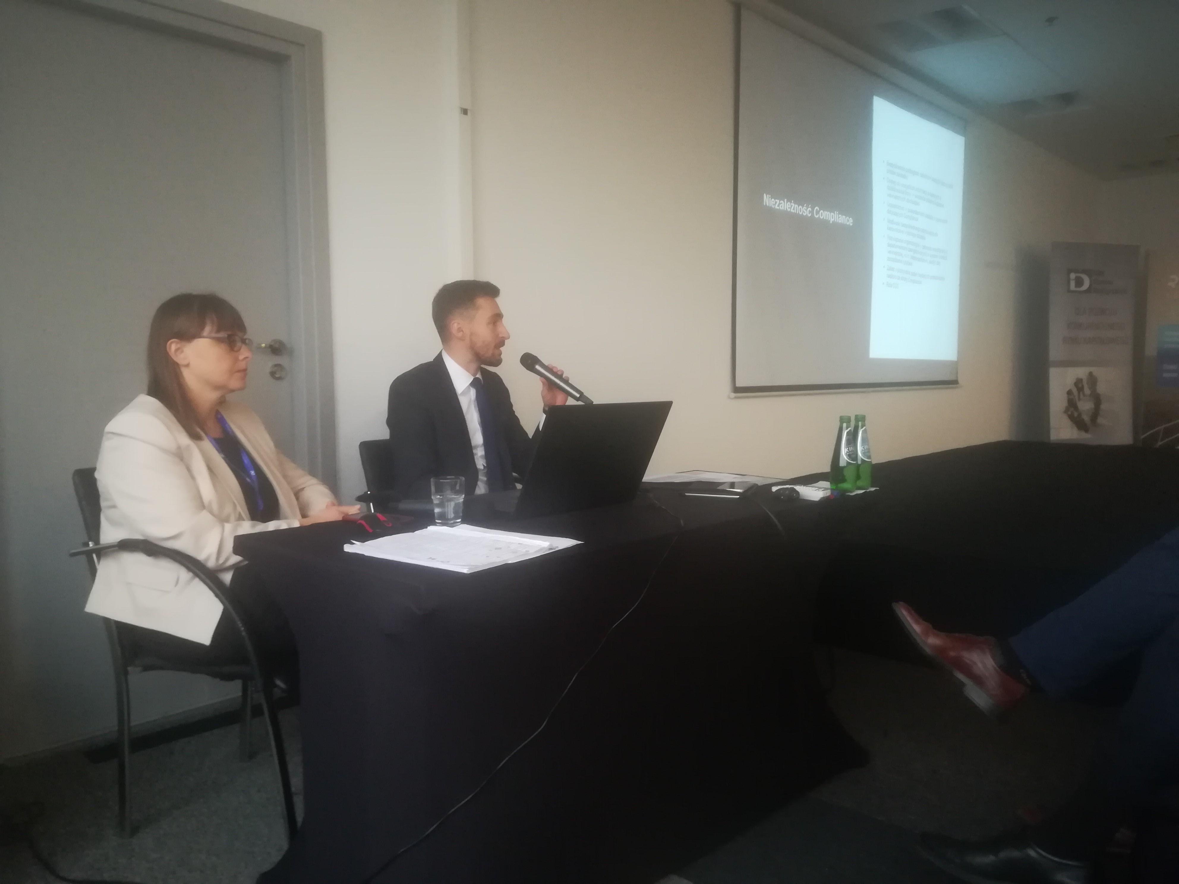 """Konferencja Compliance Izby Domów Maklerskich: """"MiFID II, RODO, AML – bieżące problemy instytucji finansowych związane z nowymi regulacjami"""""""