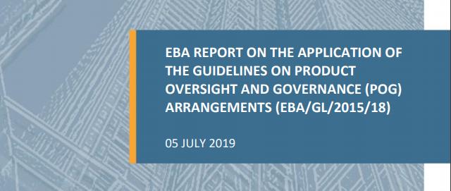 [Produkty] Wytyczne EBA w sprawie wprowadzania i nadzoru nad produktami w najnowszym raporcie unijnego nadzorcy