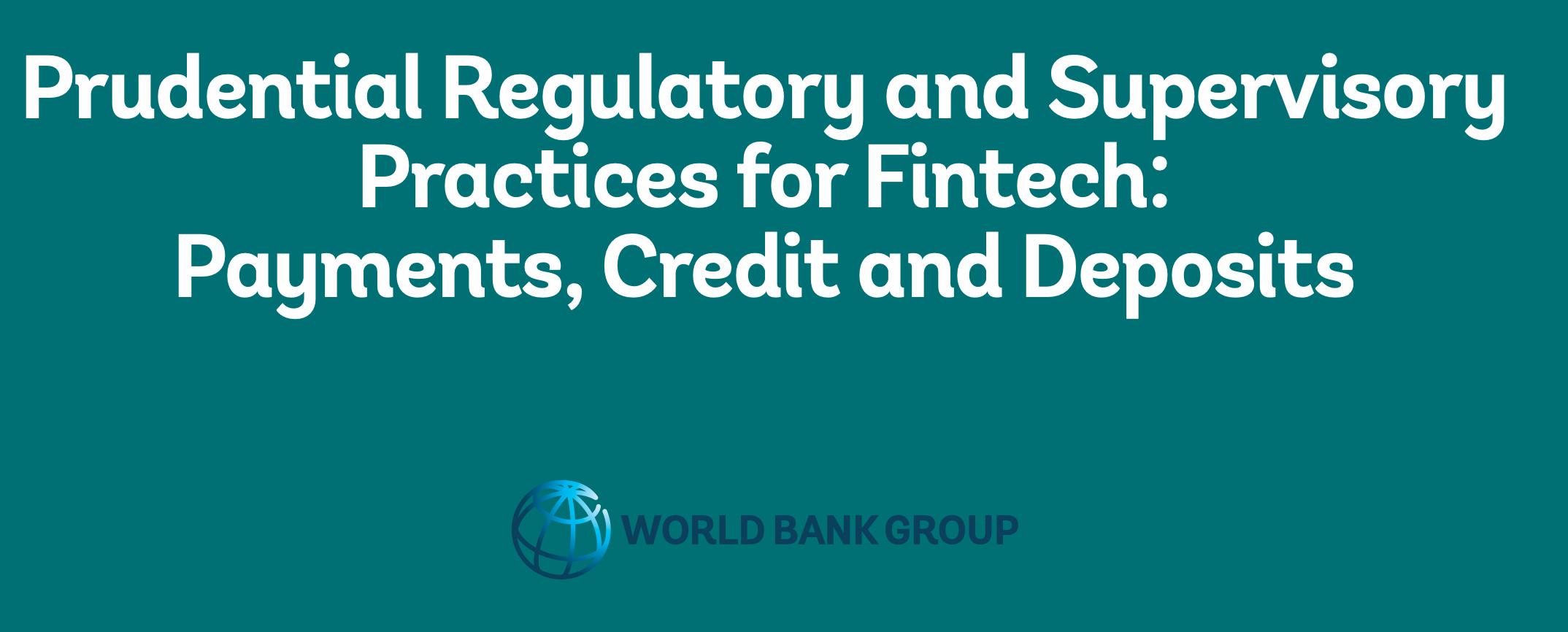 """Microsoft sugeruje podział odpowiedzialności przy outsourcingu, czyli raport Banku Światowego """"Prudential Regulatory and Supervisory Practices for Fintech"""