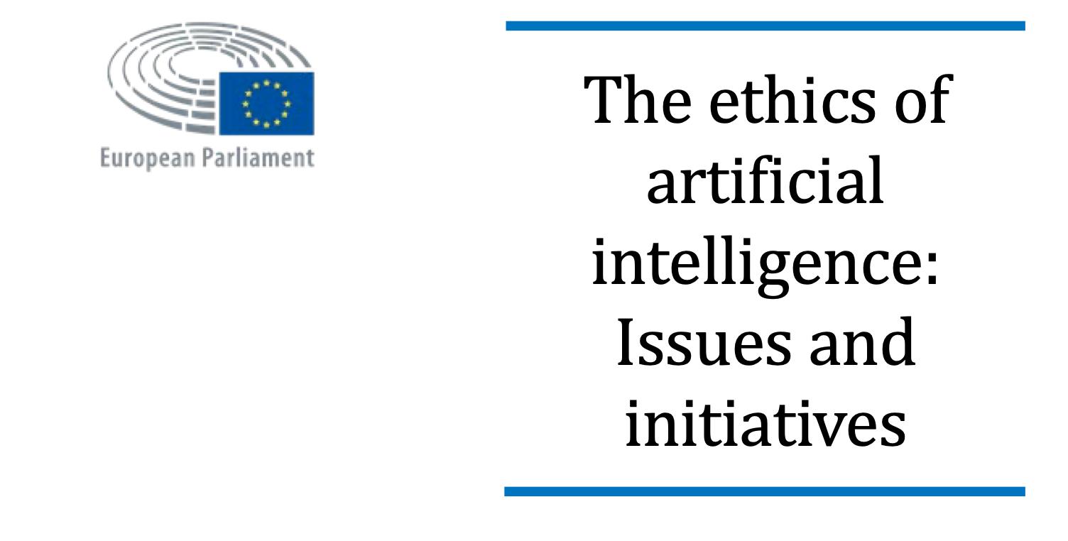 Case study: sztuczna inteligencja w handlu algorytmicznym na bazie The ethics of artificial intelligence: Issues and initatives