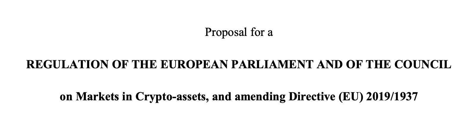 Rozporządzenie oparte na wyłączeniach, czyli nowa propozycja Komisji (UE) w sprawie uregulowania rynku krypto-aktywów. Pierwsze wrażenia