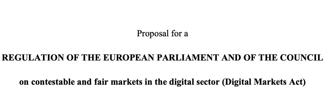 W końcu są. Digital Markets Act oraz Digital Services Act tworzyć będą nowe ramy dla rynku cyfrowego w UE