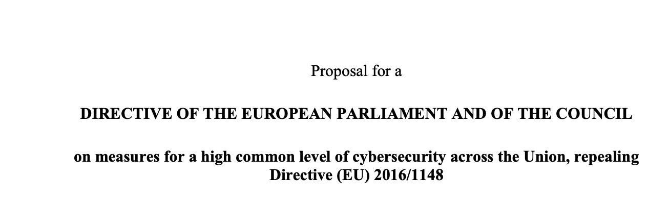 Nowa dyrektywa (a może rozporządzenie) w sprawie cyberbezpieczeństwa zaproponowana przez Komisję (UE). Czeka nas sporo zmian