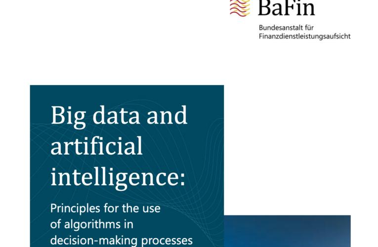 Wytyczne BaFin w sprawie sztucznej inteligencji dla sektora finansowego. Dobry przykład, dobre praktyki