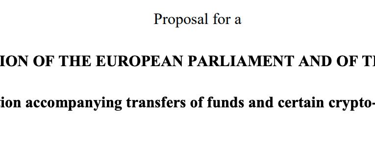Zmiany do Rozporządzenia 2015/847 w sprawie transferu środków są znaczące. Szczególnie dla fanów kryptoaktywów